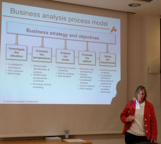 Keynote von Lyn Girvan - The Strategic BA