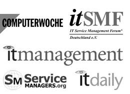 Bild zeigt Logos von Medien, in denen Robert Sieber veröffentlicht