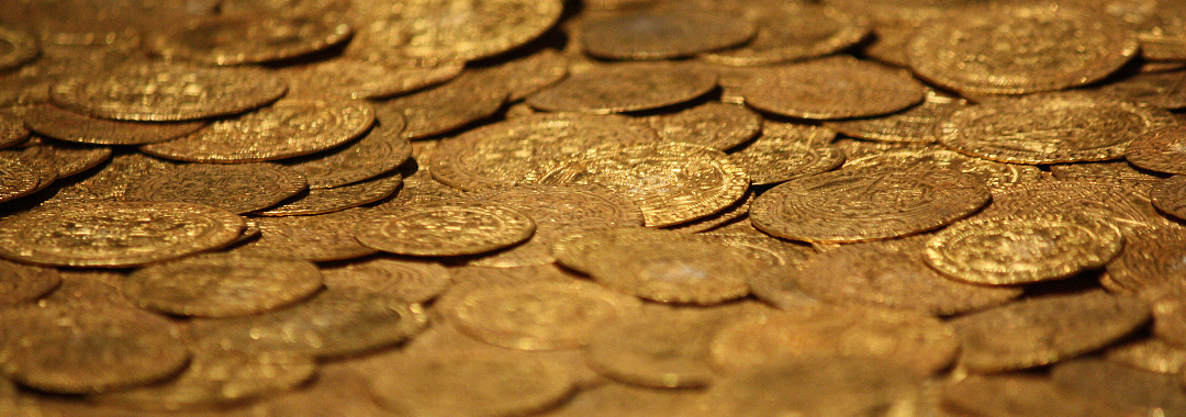 Fishpool gold coins