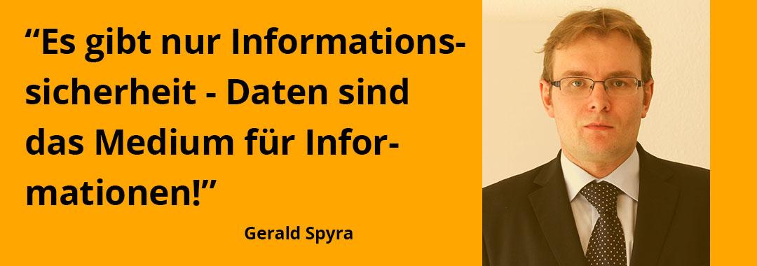 Datenschutz = Transparenz, Vertrauen und Respekt - Interview mit Gerald Spyra zur DSGVO