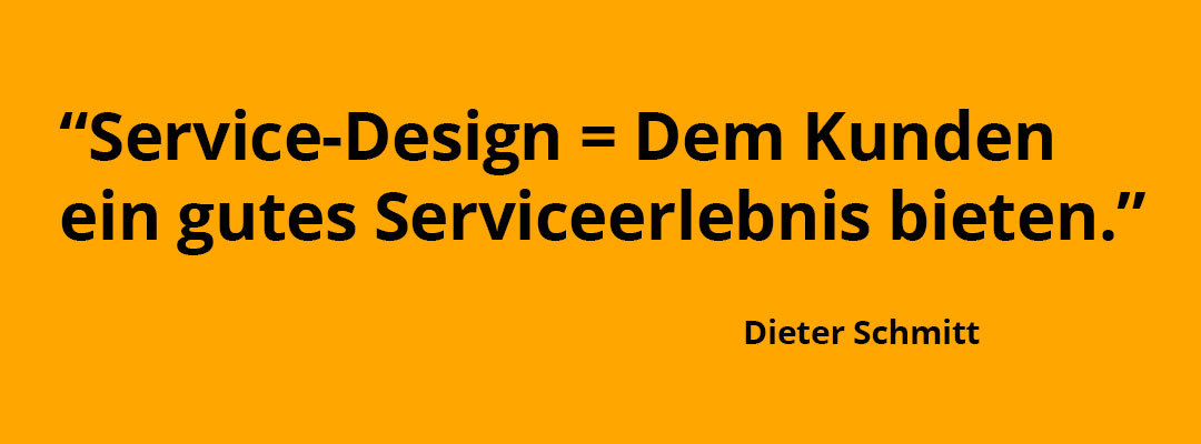 Wie Du mit gutem Service-Design den perfekten Service kreierst.
