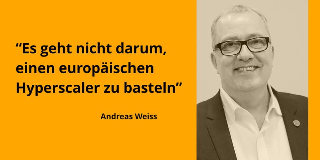 Interview Andreas Weiss GAIA-X