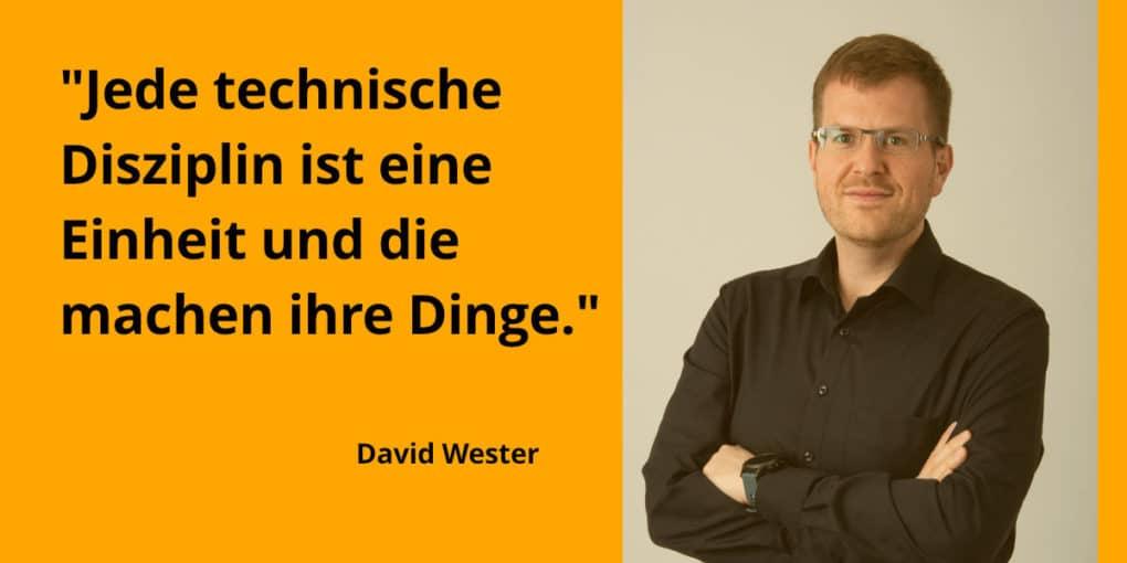 Aufbau serviceorientierte Organisation - Interview mit David Wester, SoCura